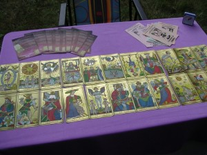 les 22 lames du tarot du tarot de marseille